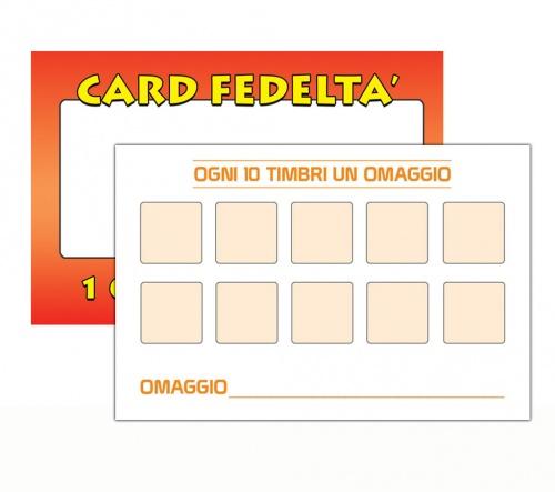 Tessere da compilare per offerte (10x1)